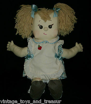 "20"" Vintage 1981 Dolls & Such By Jerry Stuffed Animal Plush Toy Girl Doll Big"