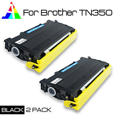 2pk TN350 TN-350 GENERIC Toner cartridge  for Brother printer HL-2040,HL-2070N