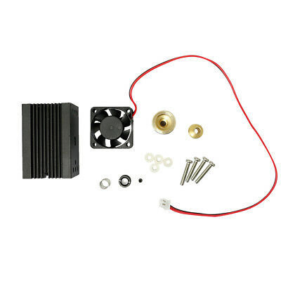 Laser Module Housing 33x33x50mm for 5.6mm TO-18 LD with Glass Lens & Fans