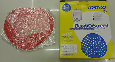 Deodorising Urinal Mat Screens 30 Days Toilet Anti Blockage Fragranced Perfumed