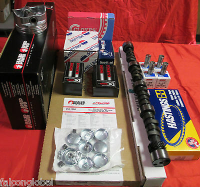 Cadillac 472 DELUXE Engine Kit Pistons+Rings+PERFORMER Cam+Valves+Springs 1974