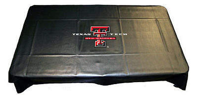 TEXAS TECH RED RAIDERS NCAA Billiards Pool Table Cover 7' 8' 9' 7ft 8ft 9foot