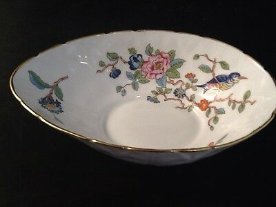 "Aynsley Pembroke 5 3/4"" Oval  Bon Bon Dish; reprod.of 18th century Ansley Design"