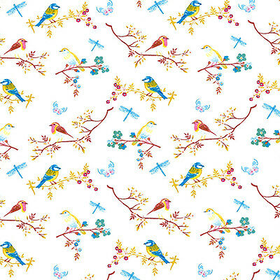 Dolls House Wallpaper 1/12th 1/24th scale Birds Quality Paper #11