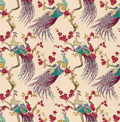 Dolls House Wallpaper 1/12th 1/24th scale Birds Quality Paper #169