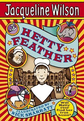 Hetty Feather, Wilson, Jacqueline Hardback Book The Cheap Fast Free Post