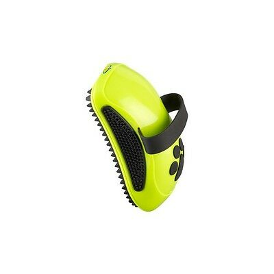 FURminator Dog CURRY COMB Rubber Grooming Brush Removes Dust  Loose Hair