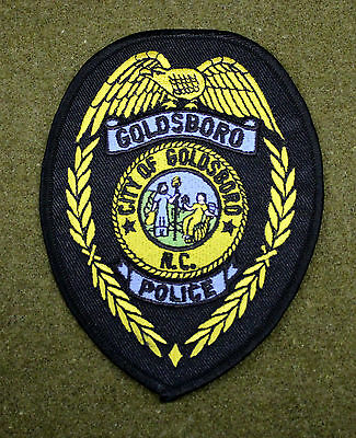 27218) Patch Goldsboro North Carolina Police Department Insignia Sheriff