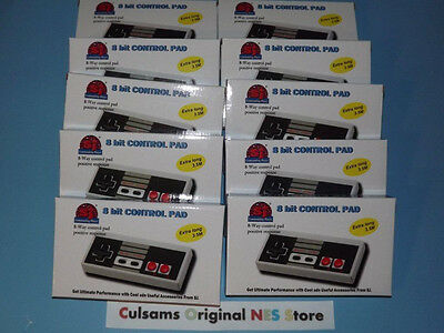 10 New Nintendo Nes Controllers With 11 Ft Cord And A 30 Day Guarantee