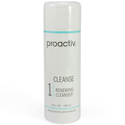Proactiv Renewing Cleanser 120ml 60 Day sealed step 1 acne proactive 5-2018 exp