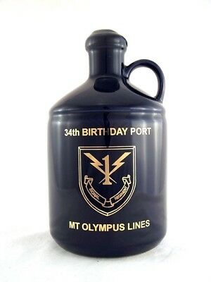 1994 circa MOUNT AITKEN Mt Olympus Lines Port Ceramic Isle of Wine