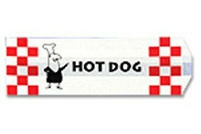 Benchmark 1000 Paper Hotdog Bags 68001 Hotdog Bag NEW