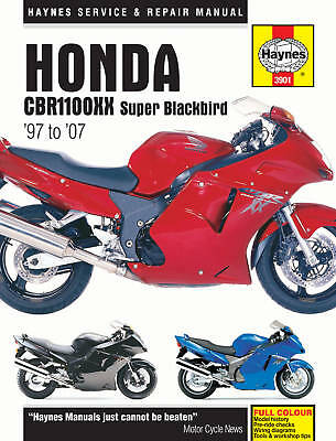 Honda CBR1100 Super Blackbird 97-07 Haynes Manual 3901