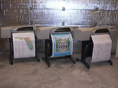 "HP Designjet 500 24"" Printer Plotter with 1 Year Warranty"