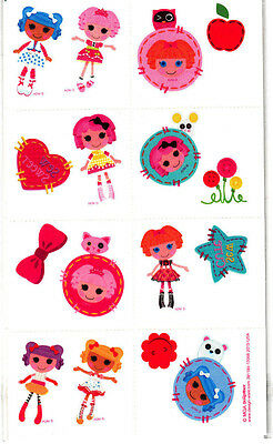 LALALOOPSY -16 Temporary Tattoos/TV & Movie Characters, Party Favors