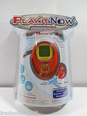 Rare Tiger PLAY IT NOW Digital Music Recorder Plug-Play-Record! Brand NEW!