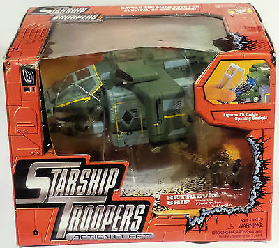 Starship Troopers : Retrieval Ship Boxed Model Made By Galoob (Far)