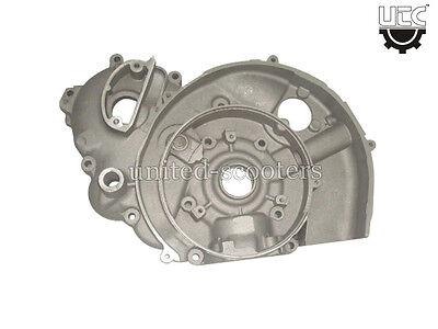 VESPA PX150 PE CRANK CASE 3 PORT 150 cc FLYWHEEL SIDE KICK START NEW P1002