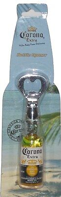 Corona Extra Bottle Opener Replica Bottle with Floating Lime - Sealed New