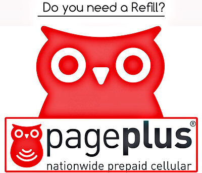 PagePlus Cellular Wireless Pay As You Go Phone Refill Card $80 FASTEST Refill