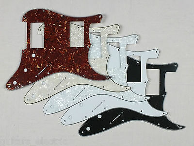 HH SCRATCH PLATE Pickguard to fit USA/Mex STRATOCASTER in 5 Colours for Strat