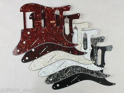 HSS SCRATCH PLATE Pickguard to fit USA/Mex STRATOCASTER Strat in 6 Colours