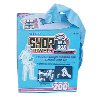 Kimberly Clark 75190 Shop Towels In A Box 10x 14