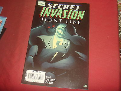 SECRET INVASION : FRONT LINE #3 Marvel Comics 2008 NM