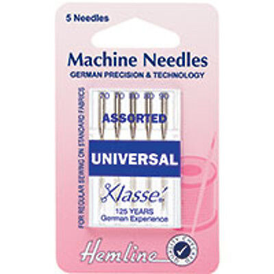 MIXED Universal Machine Needles: HEMLINE - H100.99