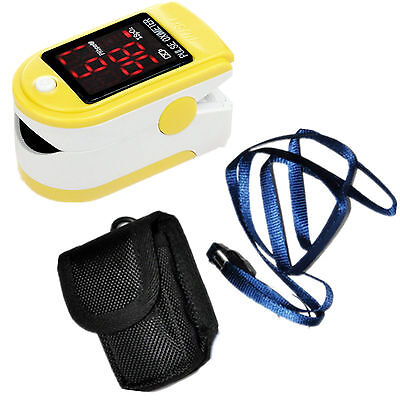 Contec Fingertip Pulse Oximeter - Yellow