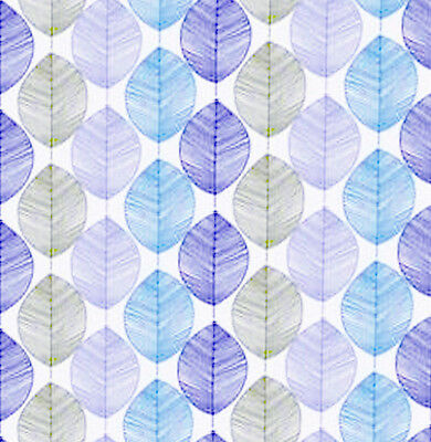 Dolls House Wallpaper 1/12th 1/24th scale Blue Quality Paper #215