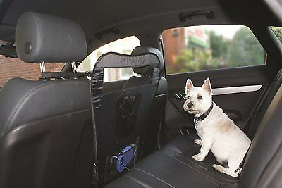 New STREETWIZE UNIVERSAL FIT CAR FRONT/REAR SEAT PET DOG BARRIER DIVIDER