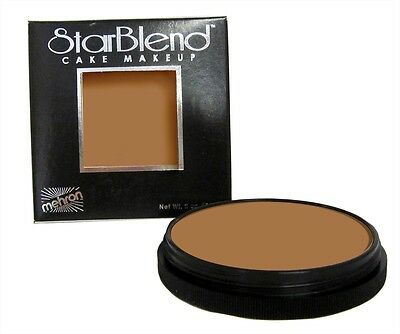 Mehron StarBlend Cake Makeup - Professional Theatrical Cake Foundation New