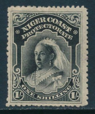 Niger Coast Protectorate Scott #48 Fine to Very Fine (Mint Hinged) SCV:$82.50