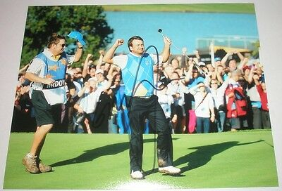 Graeme Mcdowell Signed Ryder Cup Golf Photo *Coa* Authentic Autograph