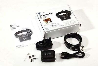 US Waterproof Rechargeable Anti Bark No Barking Dog 15-100lbs Puppy Shock Collar