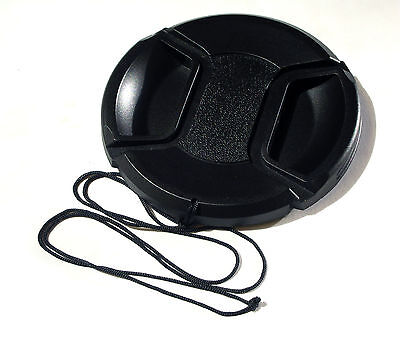 67Mm Centre Pinch And Grip Lens Cap Cover Fits Canon Sony Nikon Olympus Fuji
