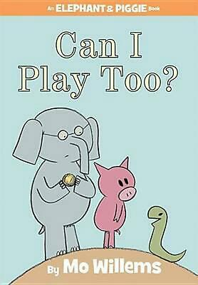 Can I Play Too? by Mo Willems Hardcover Book (English)