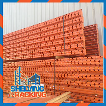 Used Redirack Pallet Racking - Special offer 1100mm deep 2700mm beams
