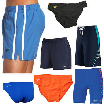 Mens Speedo Swimming Shorts Trunks Briefs Swimwear Swim New Endurance Training