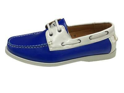 New Men's formal Smart Casual Lace Up Boat Shoes Various Colours Size 6 -11