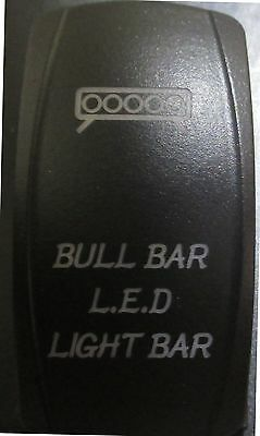 BAD BOY BUGGY JAGGEDX Dual BackLit White APOCALYPSE Rocker Switch ON OFF #ACAS