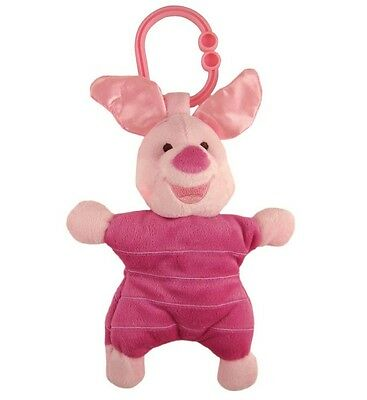 "Kids Preferred Disney Baby 7"" Plush MUSICAL LIGHT UP ATTACHABLES, PIGLET ~NEW~"