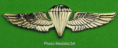 Navy Marine Corps Paratrooper Jump Wing gold