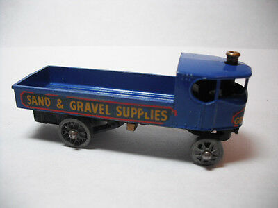 Matchbox Yesteryear Y4-1 Sentinel Steam Wagon -Sand & Gravel Supplies-GMW -XLNT