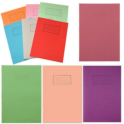 Exercise Books School Kids Writing Lined Squared Plain Home Office Paper Page