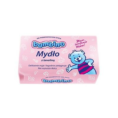 NIVEA Bambino Gentle Soap With Lanolin For Baby From 1st Day