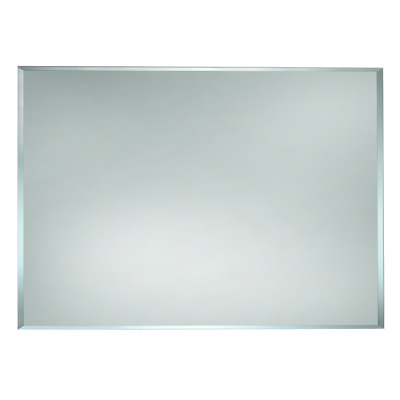 BATHROOM MIRROR 1200 x 800mm HUNG VERTICAL HORIZONTAL BEVELLED EDGE BEM1200*800