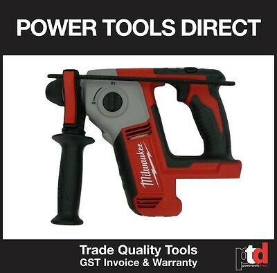 New Milwaukee 18V Cordless M18Bh Rotary Sds Hammer Drill - Heavy Duty 2 Mode