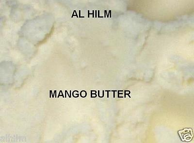 Premium ORGANIC MANGO BUTTER 100%PURE NATURAL Fair Trade Virgin Raw Cold Pressed